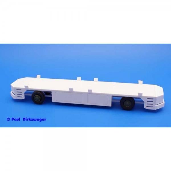 100410 - Bausatz - AGV - autonom fahrender Containertransporter, unlackierter Kunststoff