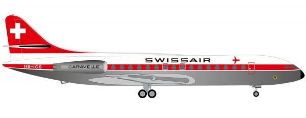 "534062 - Herpa - Swissair Sud Aviation SE-210 Caravelle ""Uri"""