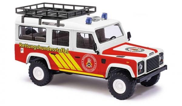 50370 - Busch - Land Rover Defender, Rettungshundestaffel, Bj. 1983