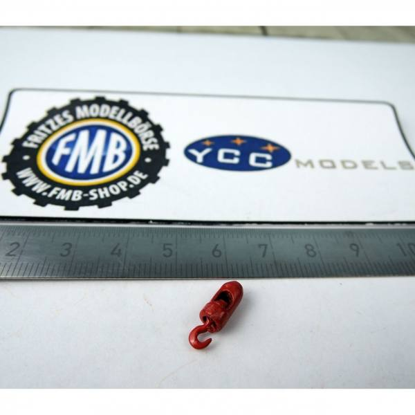 YC251 - YCC Models - Kranhaken 3t, rot