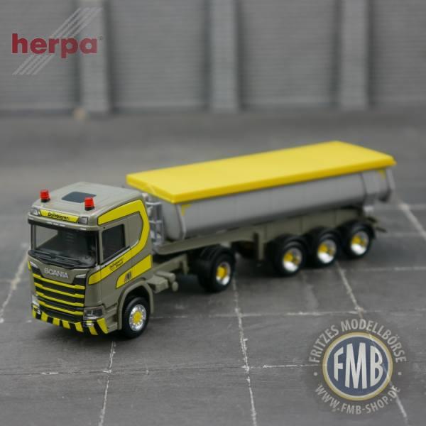 "940405 - Herpa - Scania CR 20 Thermomulden-Sattelzug ""Dornbierer"" CH"