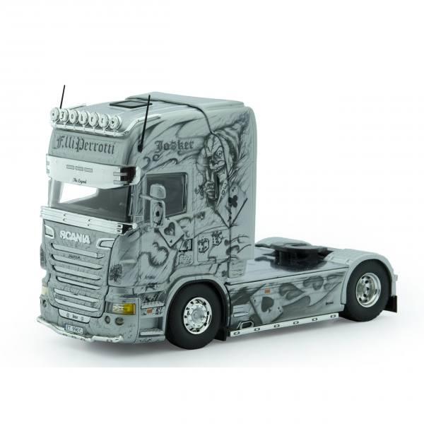 72277 - Tekno - Scania R TL 2achs Zugmaschine - Perrotti - The Joker - I -