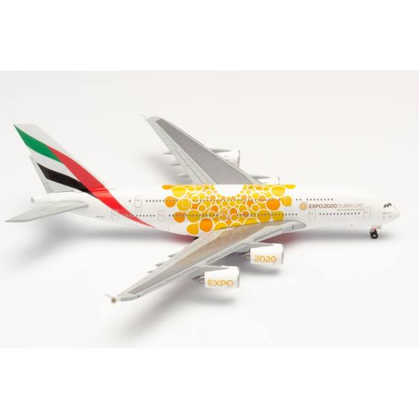 "533812 - Herpa - Emirates Airbus A380 ""Expo 2020 Dubai / Opportunity"""