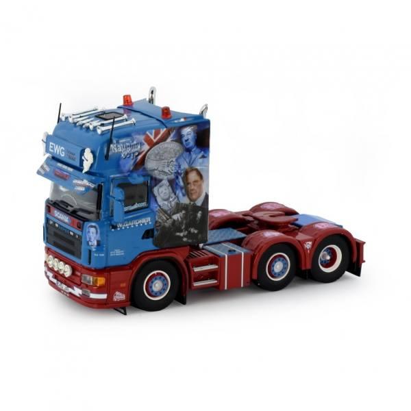 76812 - Tekno - Scania 4-serie TL 6x2 3achs Zugmaschine - E.W. Gardner (Naughty Boys) - UK -