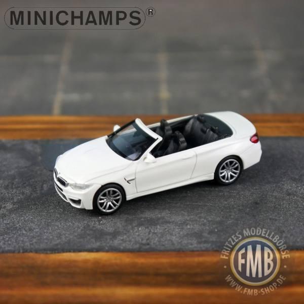 027231 - Minichamps - BMW M4 Cabrio (2015), weiß