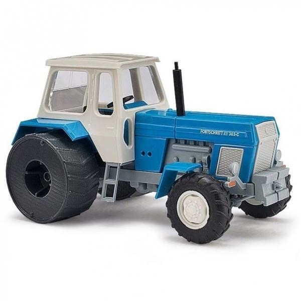 42840 - Busch - Fortschritt ZT 303-C Traktor mit Eisenrädern, blau
