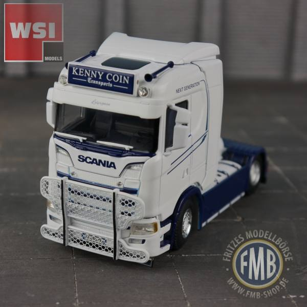 01-2745 - WSI - Scania CS20N 4x2 2achs  Zugmaschine - Kenny Coin Transports - F-