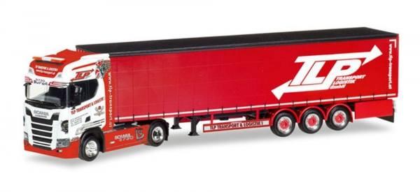 "307680 - Herpa - Scania CS20 Highline V8 Gardinenplanen-Sattelzug ""TLP"" A"