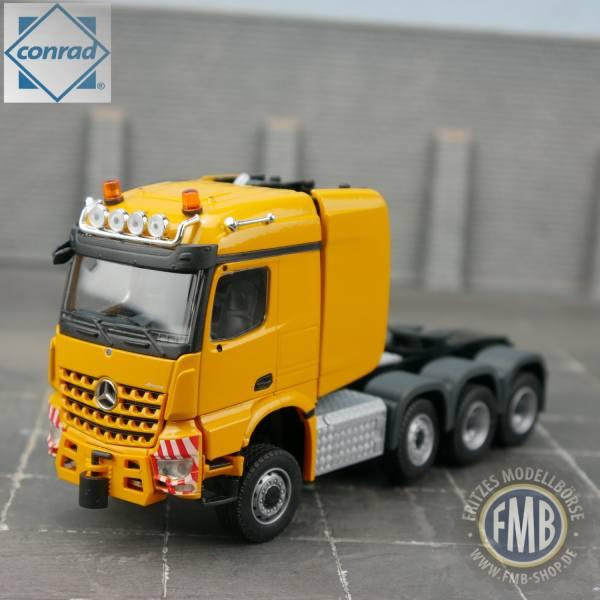 78001/0 - Conrad - Mercedes-Benz Arocs StreamSpace 2,3 SLT 8x6 Schwerlastzugmaschine, gelb