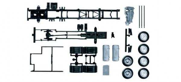 083669 - Herpa - TS Mercedes-Benz Actros Fahrgestell 6x2 7,45m -2 Stück