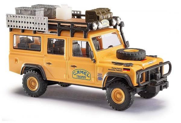 """50373 - Busch - Land Rover Defender 110 """"Camel Trophy 1989, Team Deutschland"""""""