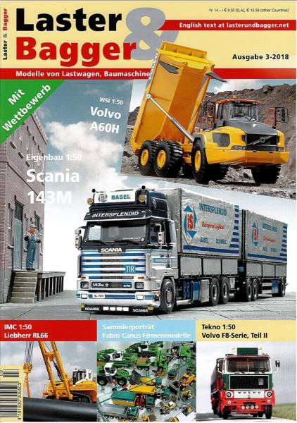 3-2018 - Zeitschrift Laster & Bagger - Ausgabe 3-2018