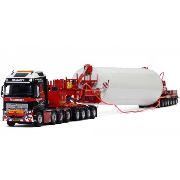 410253 - WSI - Volvo FH4 GL XL 8x4 Windkraftanlagen Transport - Mammoet - NL -