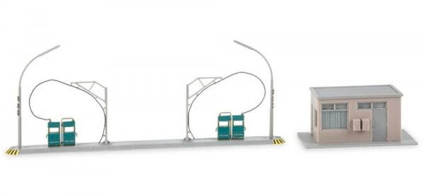 745864 - Herpa - Gebäudebausatz Tankstelle