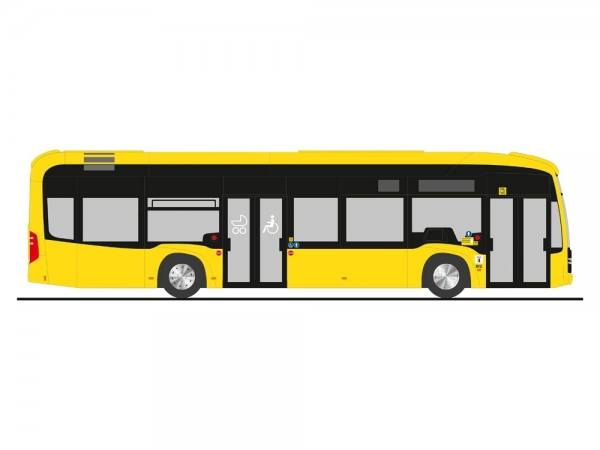 "75504 - Rietze - Mercedes-Benz eCitaro Elektro-Stadtbus, 2türig ""BVG, Berlin"""