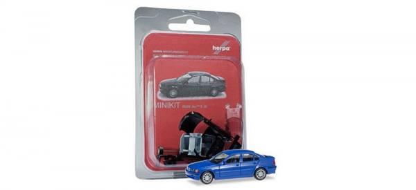 "012416-006 - Herpa - MiniKit BMW 3er Limousine (E46) ""blau"""
