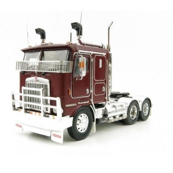 Iconic Replicas - Kenworth K100G 6x4 3achs Zumaschine - Burgundy - AUS -