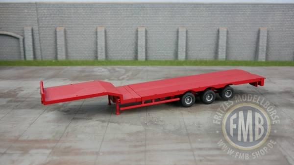 HNT 161.19.23 - ZON Model Holland - Nooteboom Tele-Semitieflader, 3Achs, rot