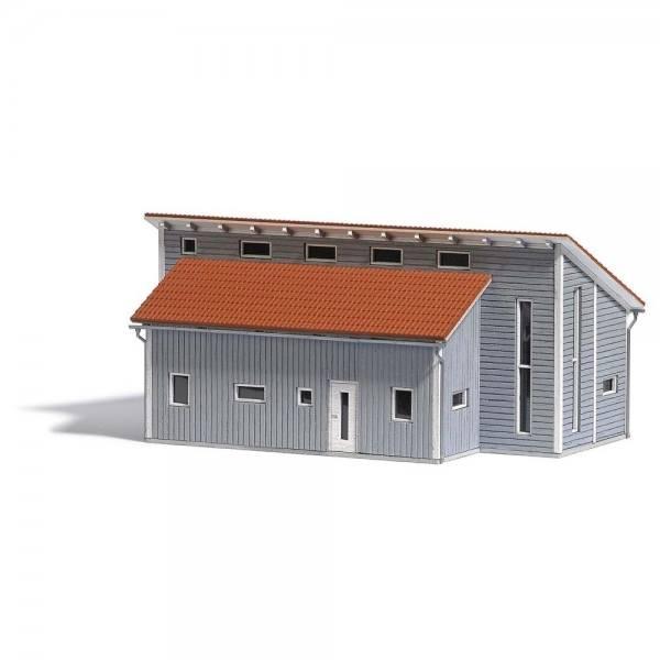 1548 - Busch - Gewerbehalle - Bausatz (153 x 84 x 72mm)