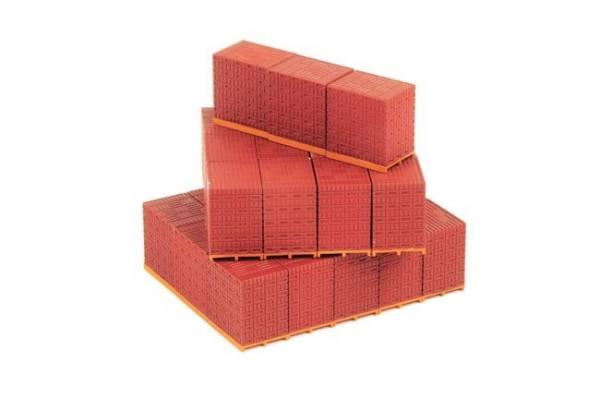 12-1002 - WSI - Rote Steine auf Paletten
