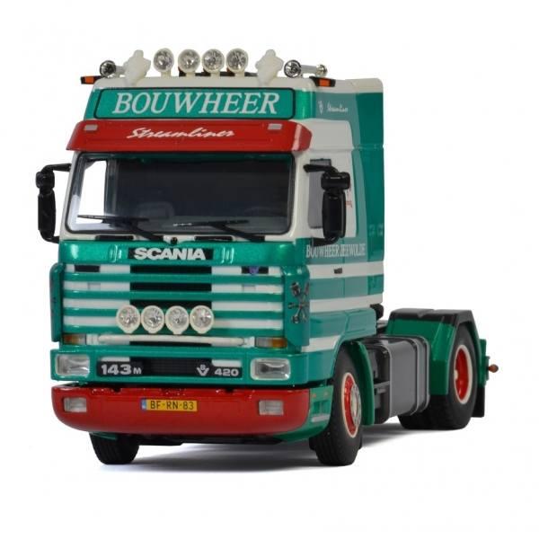 01-2937 - WSI - Scania 143M Streamline 2achs Zugmaschine - Bouwheer - NL -