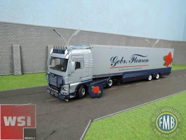 01-2172 - WSI - MAN TGX XXL mit 2achs Semi-Box Auflieger - Gebr. Fleuren - NL -