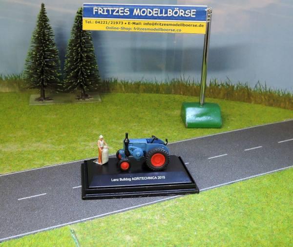 452623300 - Schuco - Lanz Bulldog Traktor -Agritechnica 2015-