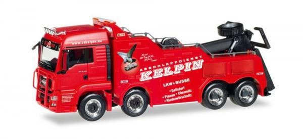 "308410 - Herpa - MAN TGS XL Euro6 Empl Bison Bergefahrzeug ""Kelpin, Vogtland"""