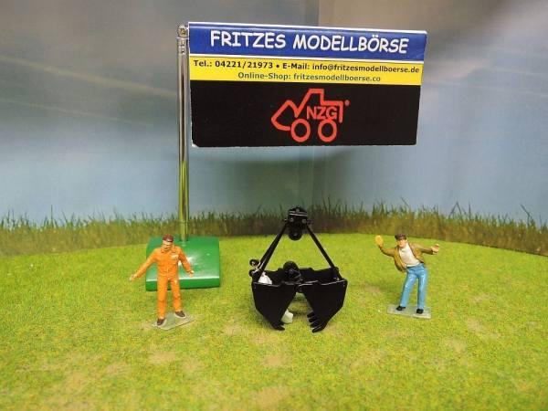 506/09 - NZG - Zweischalen-Greifer für Seilbagger, klein