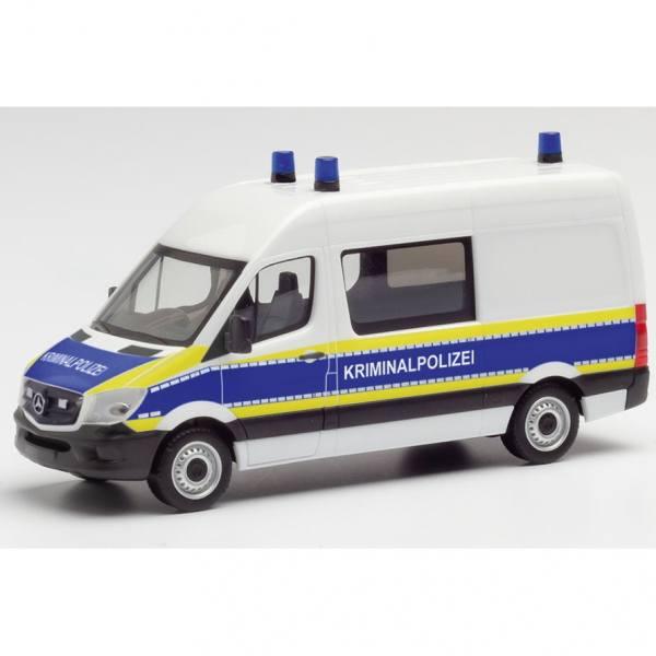 """095563 - Herpa - Mercedes-Benz Sprinter `13 Halbbus """"Kriminalpolizei Brandenburg"""""""