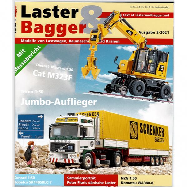 2-2021 - Zeitschrift Laster & Bagger - Ausgabe 2-2021