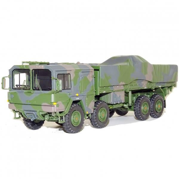 G0008240 - GMTS - MAN KAT 1 Flatbed 8x8 10 to 4axle - Militär Bundeswehr -