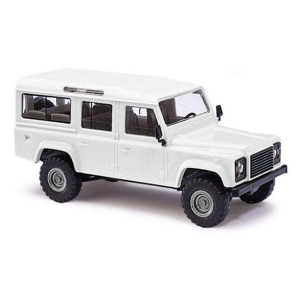 60209 - Busch Bausatz - Land Rover Defender 110 `83, weiß