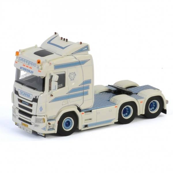 01-2975 - WSI - Scania R Normal CR20N 6x2 3achs Zugmaschine - Sneepels Transport - NL -