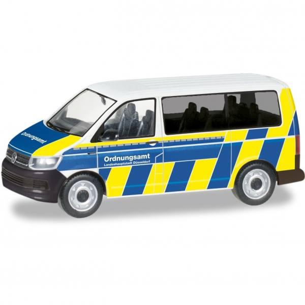 """094764 - Herpa - VW T6 Bus Funkstreifenwagen """"Ordnungsamt Düsseldorf"""""""