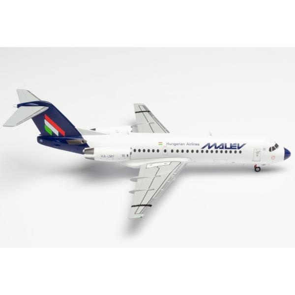 570763 - Herpa - Malév Fokker 70 - HA-LMF -