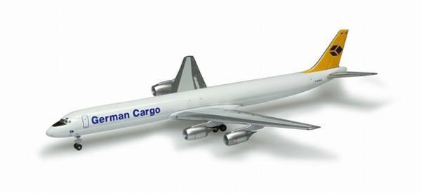 518673 - Herpa - German Cargo Douglas DC-8-73F - 1:500