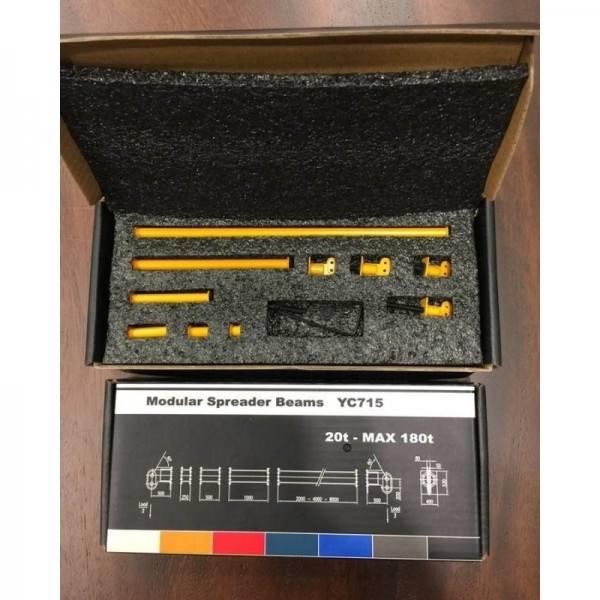 YC715-1 - YCC Models - verstellbare Kran-Traversen 20t bis max. 180t, gelb