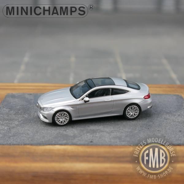 037024 - Minichamps - Mercedes-Benz AMG C 63 Coupé (2018), silber metallic