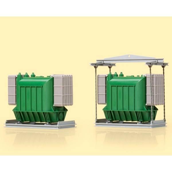 41654 - Auhagen - 2 Transformatoren als Ladegut - Bausatz