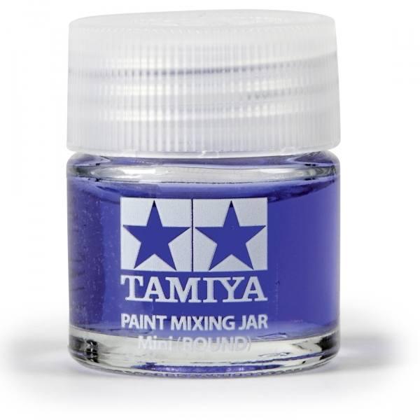 81044 - Tamiya - Farb Mischglas 10ml, rund