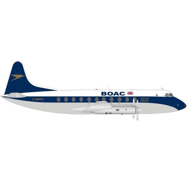 "570817 - Herpa - BOAC Vickers Viscount 700 ""Scottish Princess"""