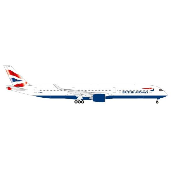 533126 - Herpa - British Airways Airbus A350-1000 - G-XWBA -