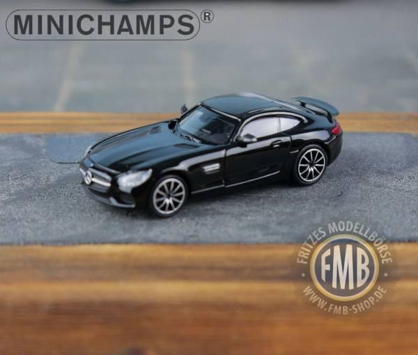 037120 - Minichamps - Mercedes-Benz AMG GT-S (2015), schwarz