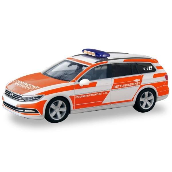 094955 - Herpa - VW Passat Variant  - Rettungsdienst Feuerwehr Frankfurt/Main