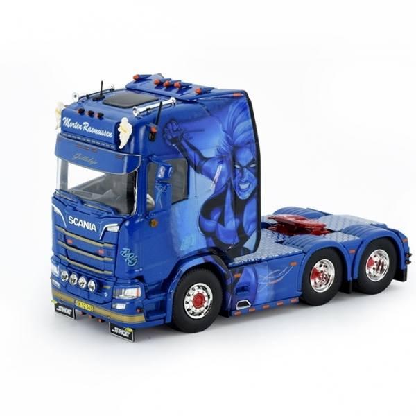76578 - Tekno - Scania R-serie HL 6x2 3achs Zugmaschine - Morten Rasmussen - DK -