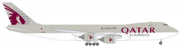 """531993 - Herpa - Qatar Airways Cargo  Boeing 747-8F """"A7-BGB"""" - 1:500"""