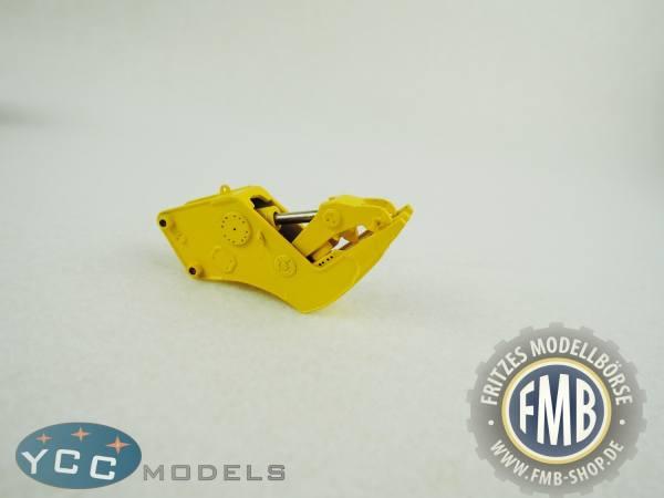 YC410-1 - YCC Models - Schere / Zange für verschiedene Baggermodelle, gelb
