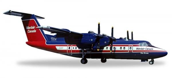 558792 - Herpa - Wardair Canada De Havilland Canada DHC-7