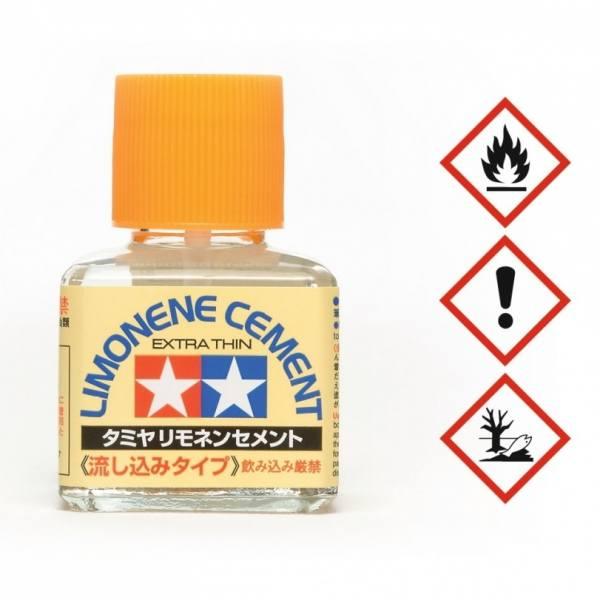 87134 - Tamiya - Plastikkleber Limonene extra thin - 40ml